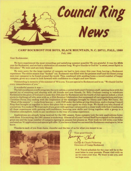 Fall 1980 Newsletter